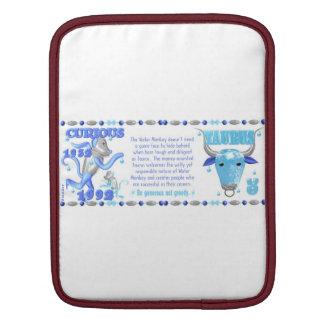 Valxart 1992 2052 WaterMonkey zodiac iPad Sleeve