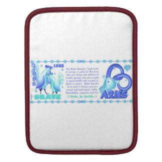 Valxart 1993 2053 WaterRooster zodiac Aries iPad Sleeve