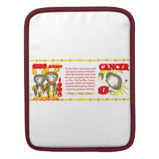 Valxart 1996 2056 FireRat zodiac Cancer Sleeves For iPads