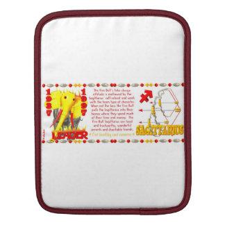 Valxart 1997 2057 1937 FireBull zodiac Sagittarius iPad Sleeves