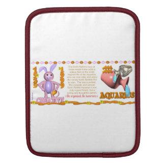 Valxart 1999 1939 2059 zodiac EarthRabbit Aquarius Sleeves For iPads