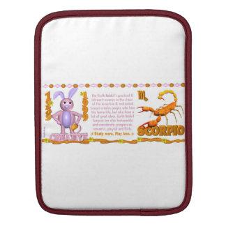 Valxart 1999 1939 2059 zodiac EarthRabbit  Scorpio Sleeves For iPads