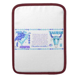 Valxart 2002 1942 2062 zodiac WaterHorse Taurus iPad Sleeves