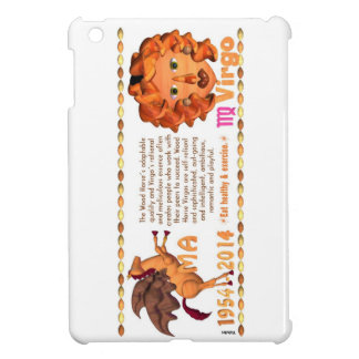 Valxart 2014 2074 1954 WoodHorse zodiac Virgo ipad Cover For The iPad Mini