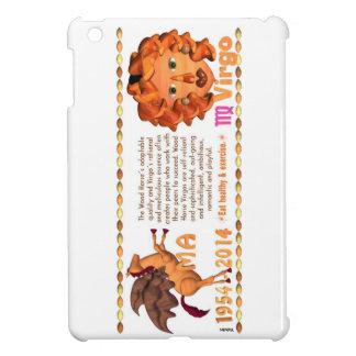 Valxart 2014 2074 1954 WoodHorse zodiac Virgo ipad Cover For The iPad Mini