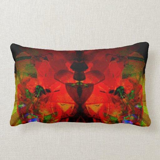 Valxart abstract jello art pillows