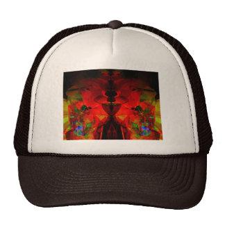 Valxart abstract jello art mesh hat