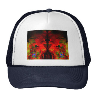 Valxart abstract jello art trucker hats