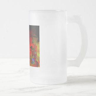 Valxart abstract jello art coffee mugs