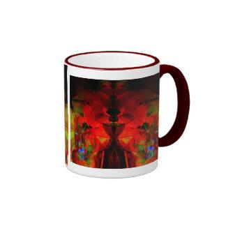 Valxart abstract jello art mugs