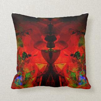 Valxart abstract jello art pillow