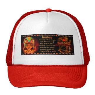 Valxart Aries Taurus zodiac cusp / 2 sign Mesh Hats