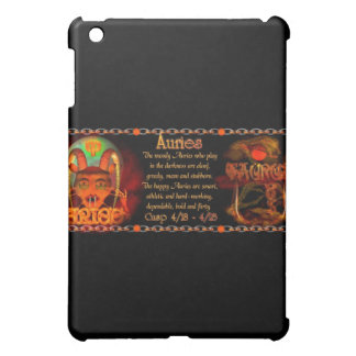 Valxart Aries Taurus zodiac cusp / 2 sign iPad Mini Cases