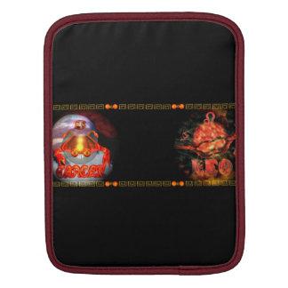Valxart born on zodiac cusp of Cancer Leo iPad Sleeve