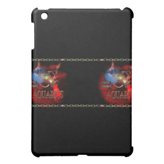 Valxart Gothic Aquarius zodiac astrology iPad Mini Case