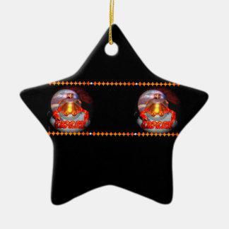 Valxart Gothic Cancer zodiac astrology Ceramic Star Decoration