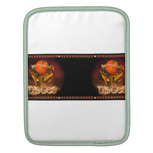Valxart Gothic Pisces zodiac astrology Sleeves For iPads