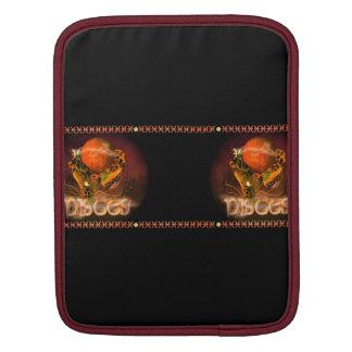 Valxart Gothic Pisces zodiac astrology iPad Sleeve