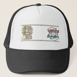 Valxart Leo Pisces zodiac friendship gifts Trucker Hat