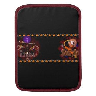 Valxart Libra Scorpio zodiac Cusp or 2 sign iPad Sleeves