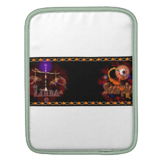 Valxart Libra Scorpio zodiac Cusp or 2 sign Sleeve For iPads