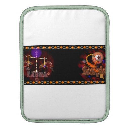 Valxart Licorpo for Libra Scorpio zodiac Cusp iPad Sleeves