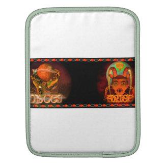 Valxart Pisces Aries zodiac Cusp or 2 sign iPad Sleeve
