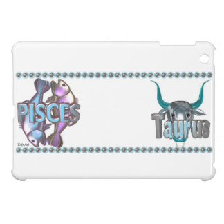 Valxart Pisces Taurus zodiac friendship Cover For The iPad Mini