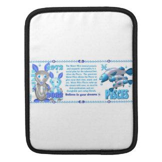Valxart s 1972 2032 WaterRat zodiac born Pisces iPad Sleeve