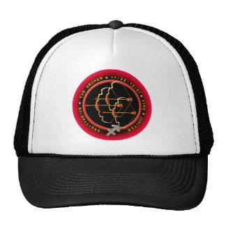 Valxart  Sagittarius zodiac logo Mesh Hat