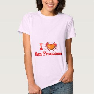 Valxart San Francisco events  crab designs Tshirts