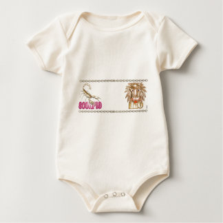 Valxart Scorpio Leo astrology friendship Baby Bodysuit
