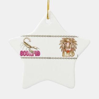 Valxart Scorpio Leo astrology friendship Ornament