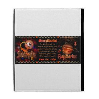 Valxart Scorpio Sagittarius zodiac Cusp iPad Folio Case