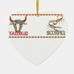 Taurus Scorpio Friendship Gifts on Zazzle AU
