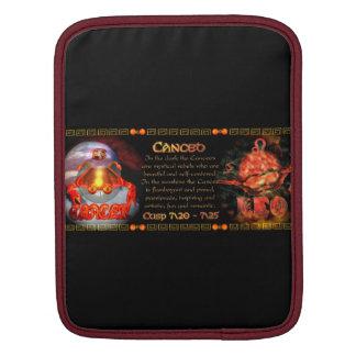 Valxart zodiac Born on Cusp Cancer Leo Sleeves For iPads