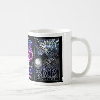 Valxart Zodiac Cusp Aquarius Pisces Coffee Mug