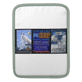Valxart Zodiac Cusp Capricorn Aquarius Sleeves For iPads