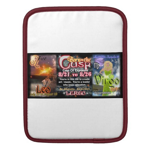 Valxart Zodiac Cusp of Leo  Virgo Sleeves For iPads