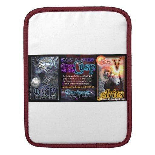 Valxart Zodiac Cusp Pisces Aries iPad Sleeve