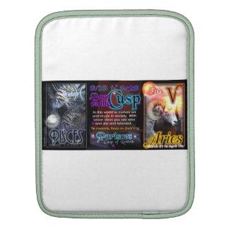 Valxart Zodiac Cusp Pisces Aries iPad Sleeves
