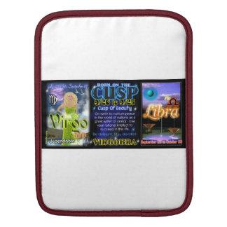 Valxart Zodiac Cusp Virgo Libra Sleeve For iPads