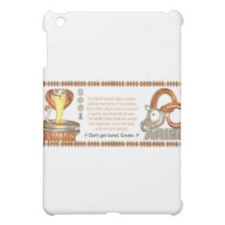 ValxArt zodiac metal snake Aries born 1941 2001 iPad Mini Cover