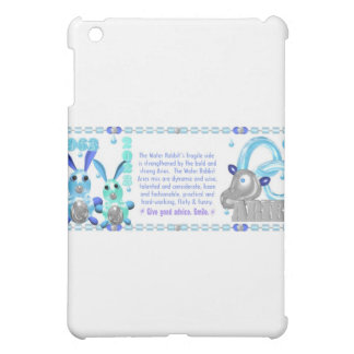 ValxArt Zodiac water rabbit born Aries 1963 2023 iPad Mini Cases