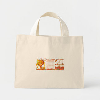 Valxart's 1984 Wood Rat zodiac born Cancer Canvas Bag