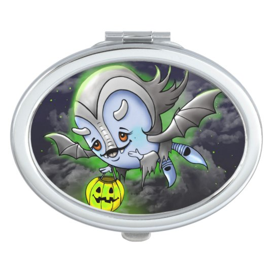 VAM BAKARA HALLOWEEN CARTOON compact mirror OVAL
