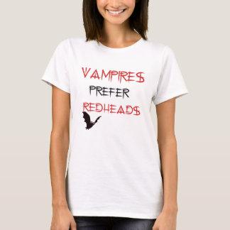 vamoires orefer redheads T-Shirt