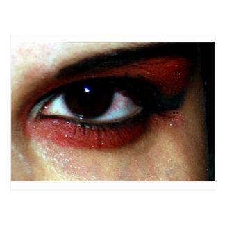 vamp eye postcard