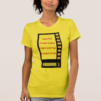 Vamp Friendly Vending Machine T-Shirt