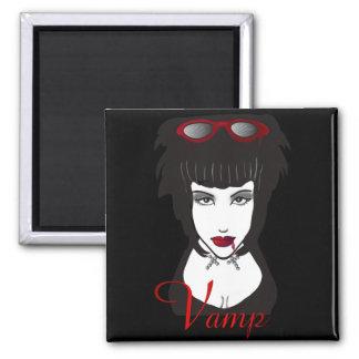Vamp II Square Magnet